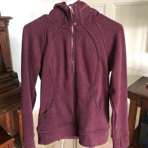 Lululemon plush zip hoodie